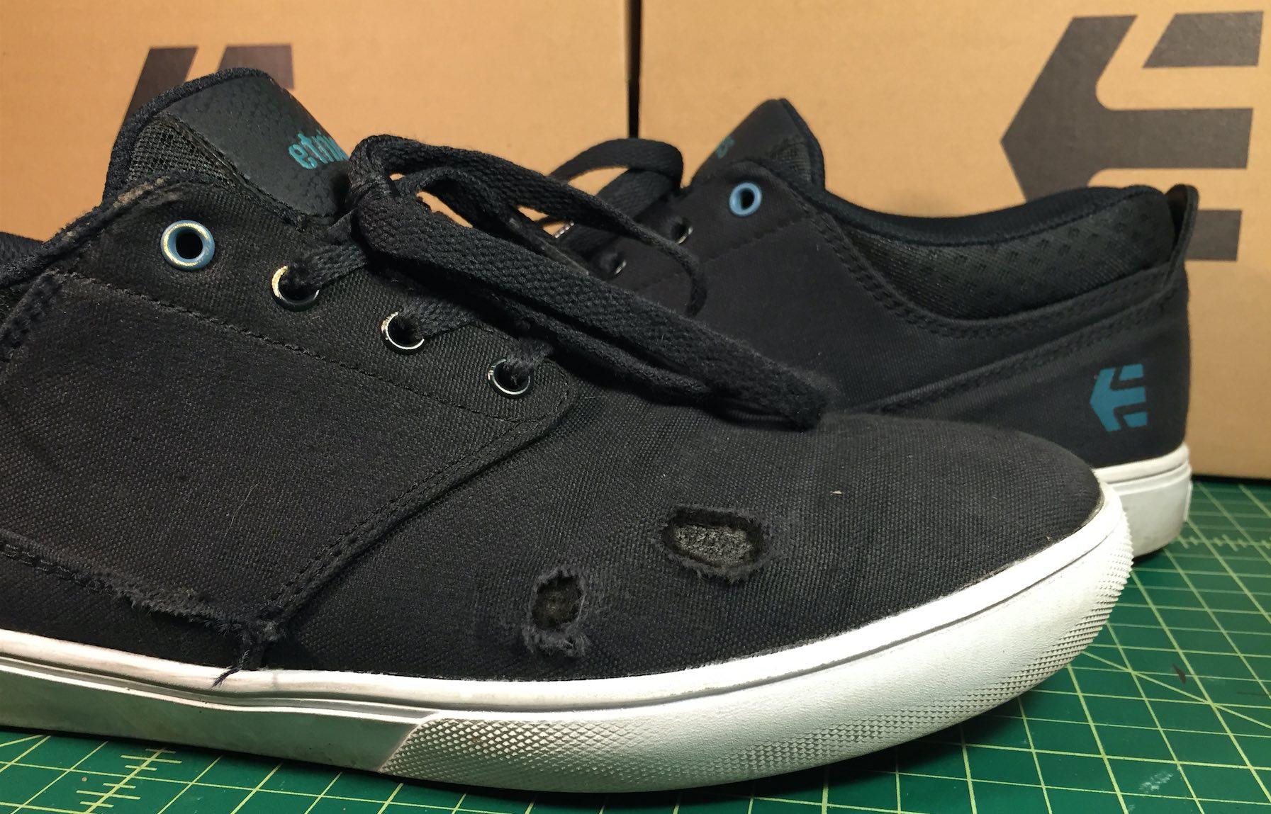 Etnies Vegan Skateboard Shoes Canvas Jameson MT Bloodline