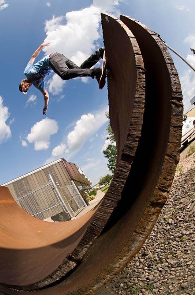 Chris Kendall Vegan skateboarder raw
