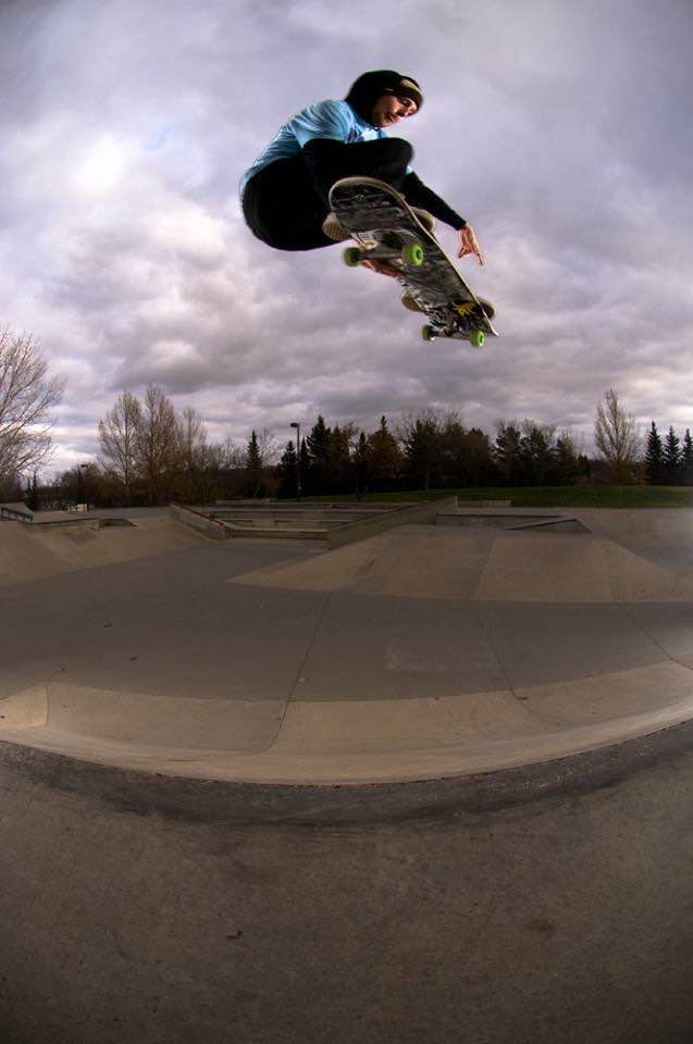 vegan skateboarder Chris Kendall