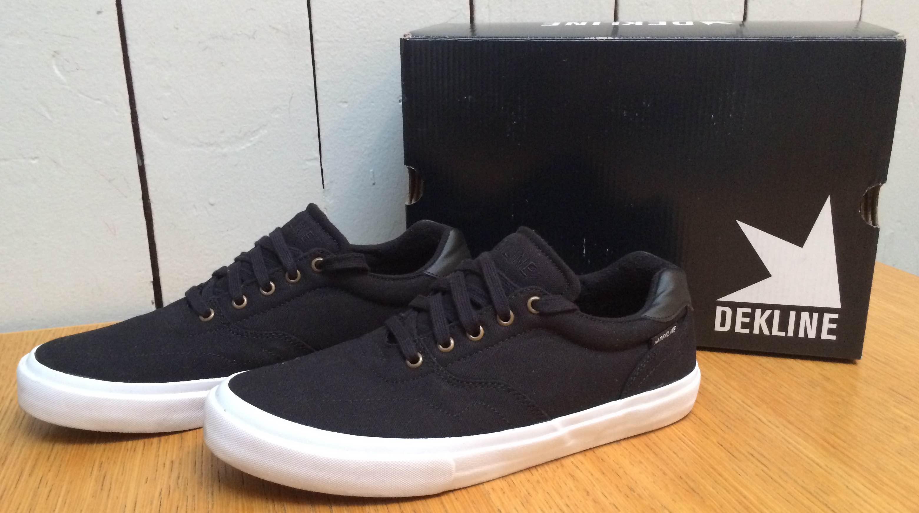 Dekline Vegan Skateboard shoes