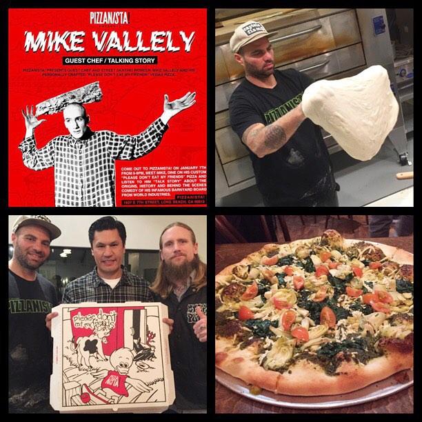 Mike Vallely Pizzanista Marc McKee Salman Agah