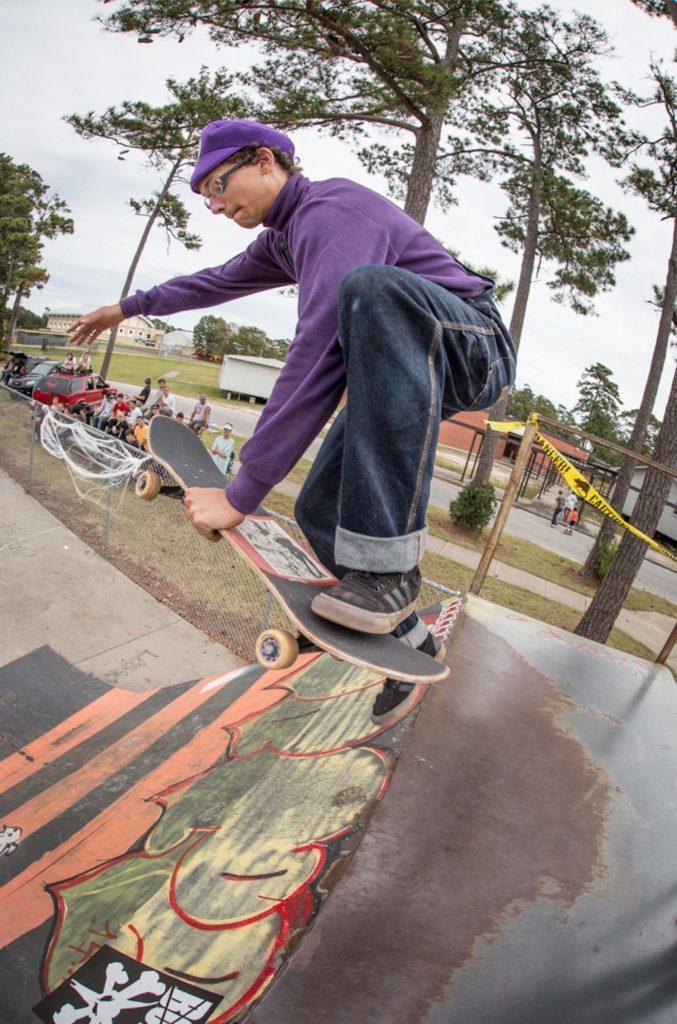 Vegan Skateboarder Vegetable Shredder