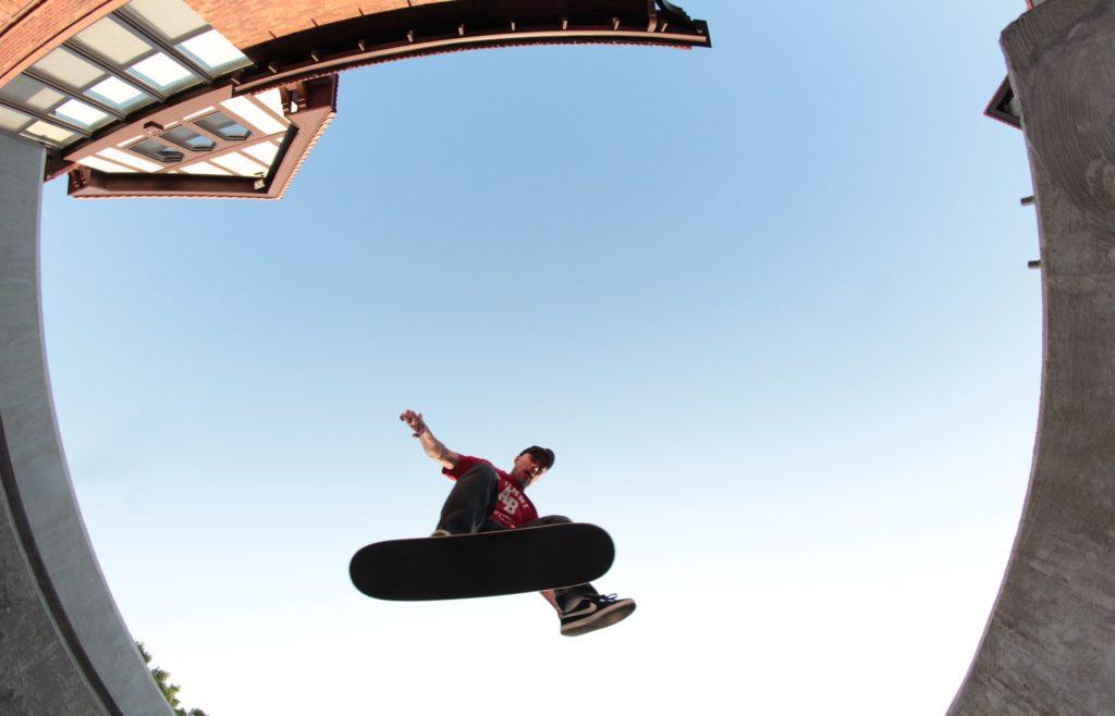 David Mayhew vegan skateboarder Osiris D3