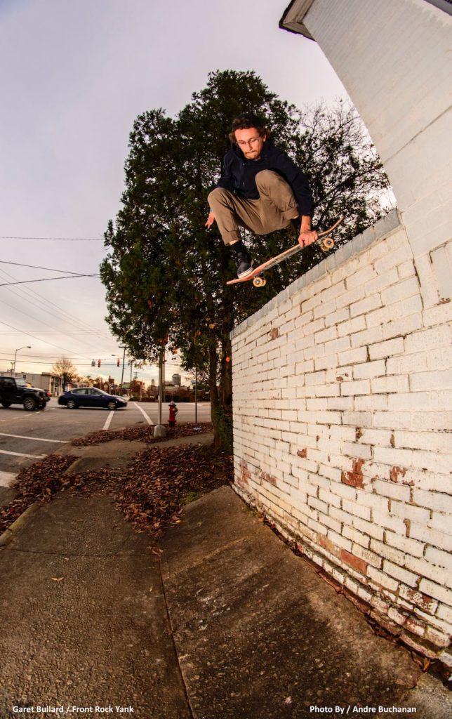 Vegetable Shredder vegan skateboarder garet Bullard
