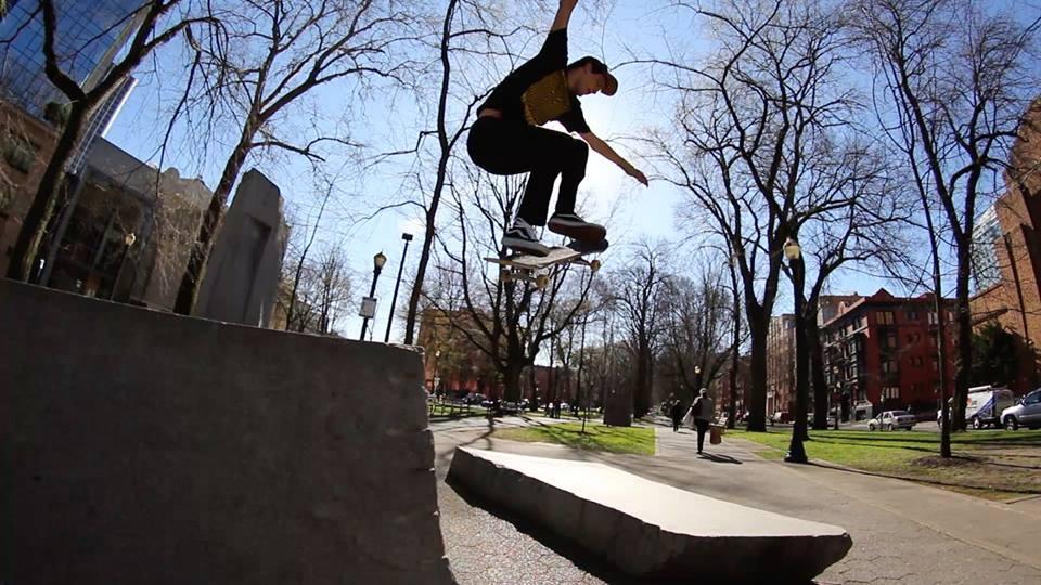 Weston Rundle vegan skateboarder
