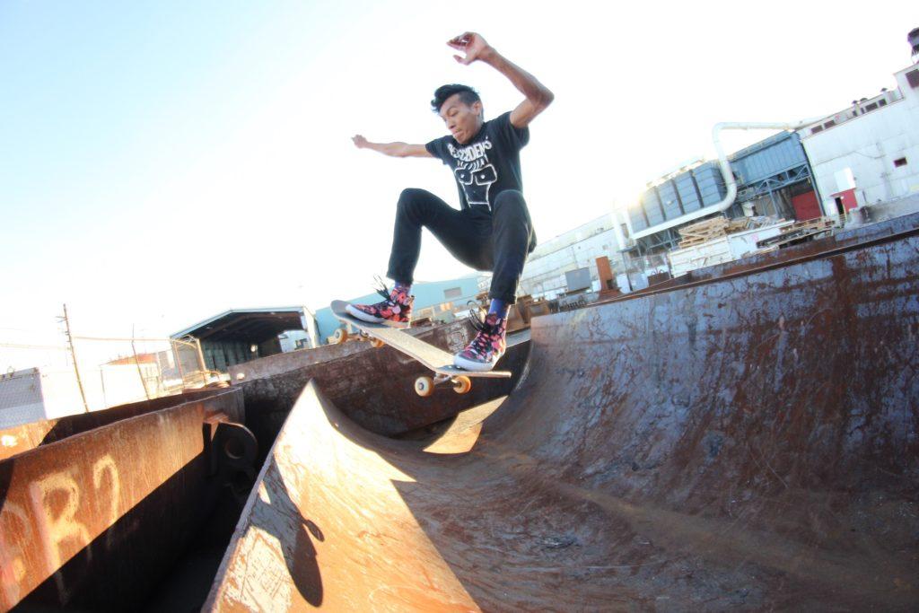 Vegan Skateboarder James Ably Vegetable Shredder