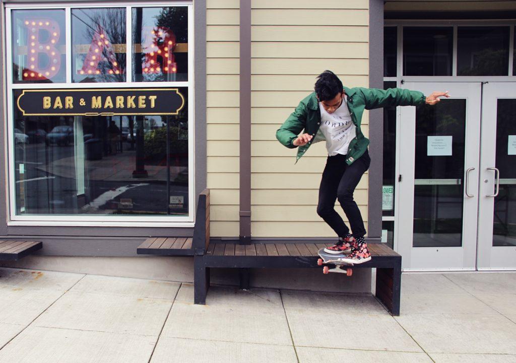 Nollie bs tail slide photo: Jon Geiter