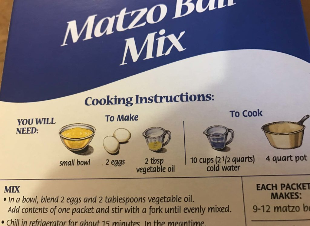 vegan matzo ball soup