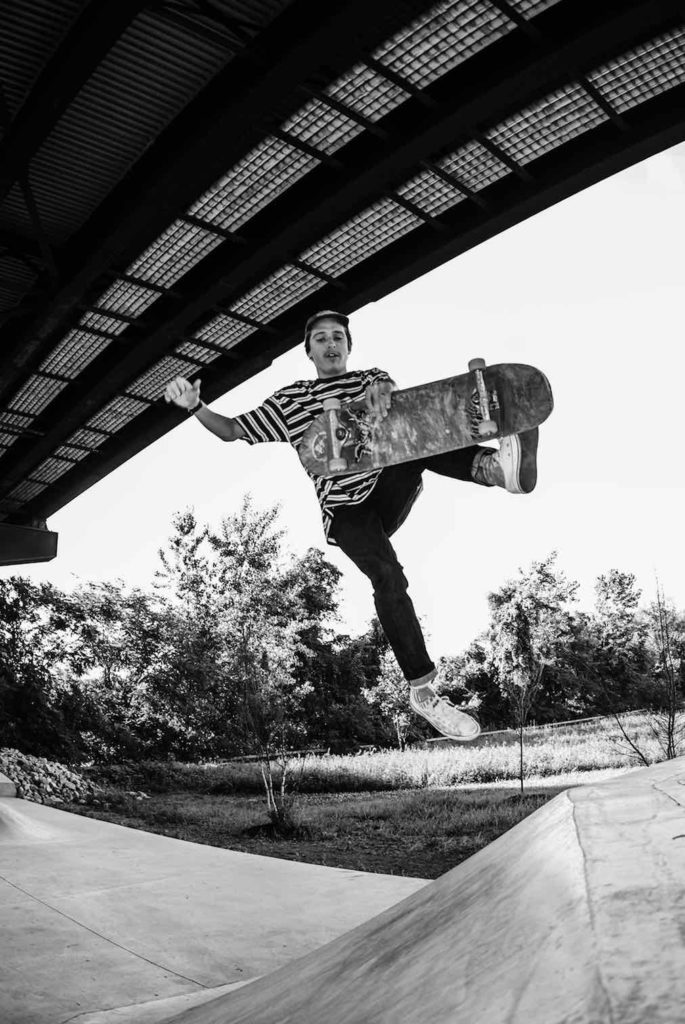 Michael Dean Vegan Skateboarder Boneless