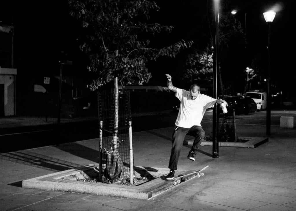 Vegetable Shredder vegan skateboarder