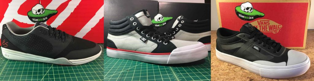 vegan skateboard shoes és dc vans