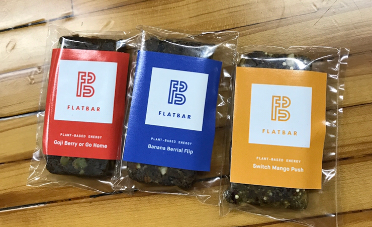 Flatbar energy bar vegan